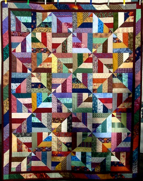 Strip Quilting Patterns Free : Creative ideas for you: Twenty-Six Free Scrappy Quilt Patterns