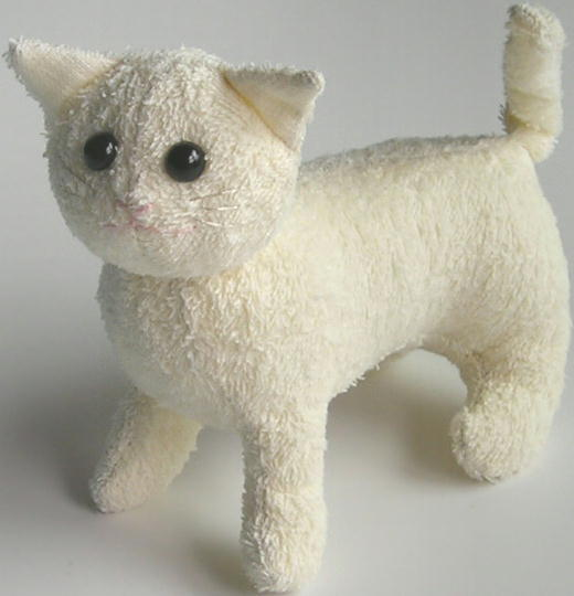 Cloth Doll Patterns and Supplies Cat and the Fid
