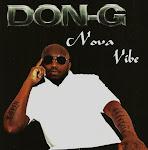 "NOVO CD DE ""DON G - NOVA VIBE"""