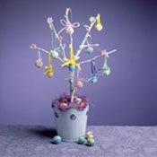 [Easter+Tree+craft]