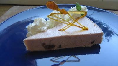 Rebarborový koláč - Trasenie
