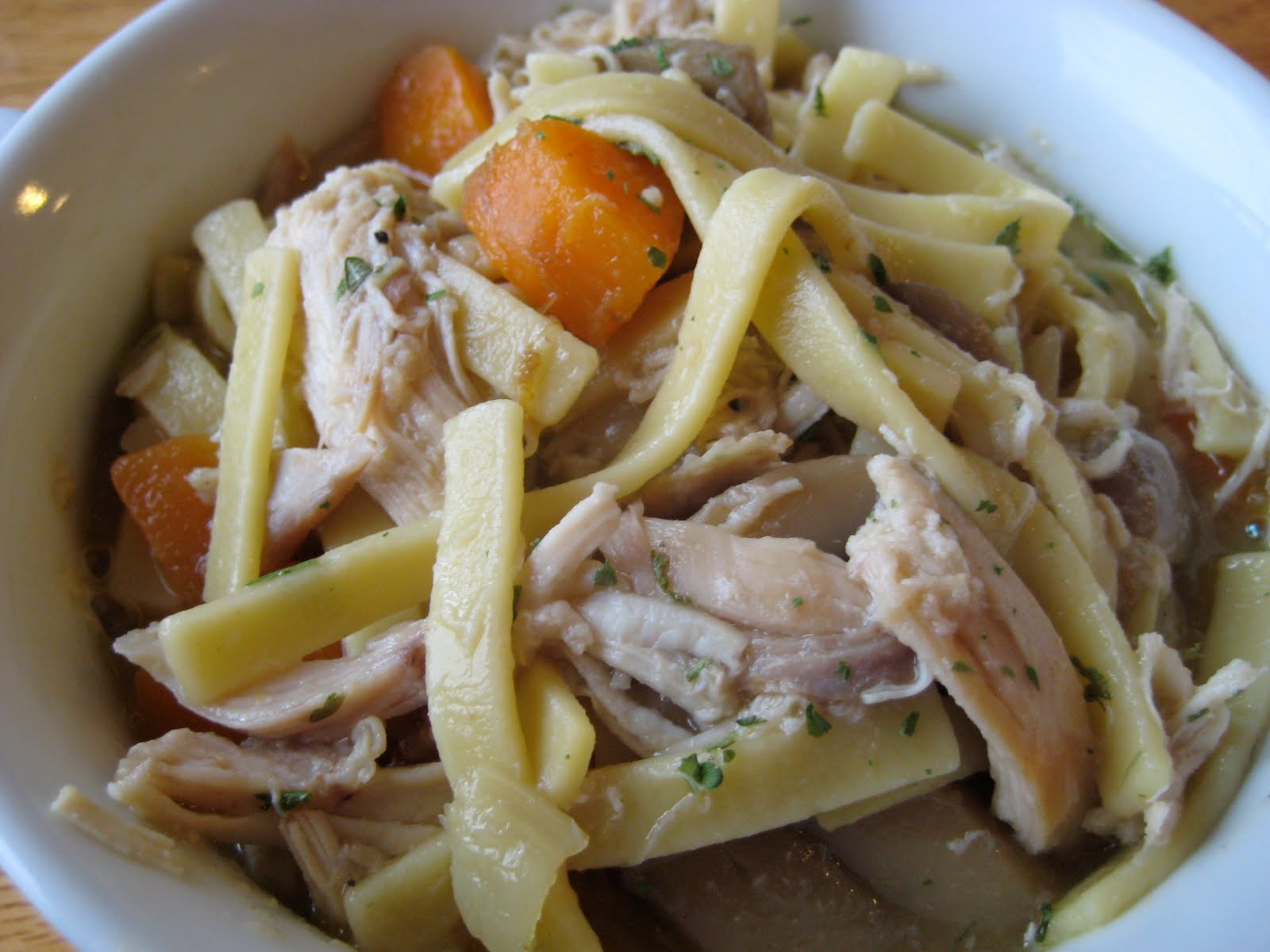 Joy in Cooking: Homemade Chicken and Noodles