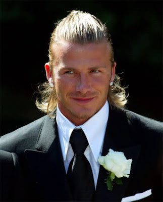 david beckham haircuts. David Beckham Long hairstyles