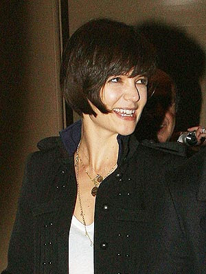 Get Katie Holmes Hot Trendy Hairstyle 2009 2010