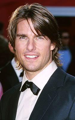 Tom Cruise Shaggy Hairstyle