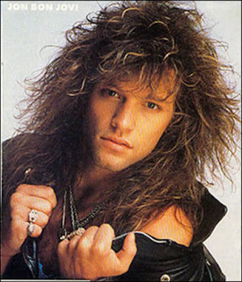 Jon Bon Jovi Rock Star Long Hairstyle