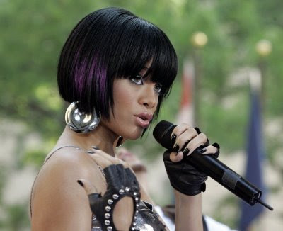 black hairstyles mohawks. rihanna hairstyles mohawk