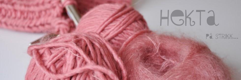 Hekta på strikk