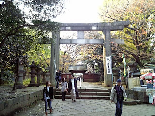 gateway to the shrine