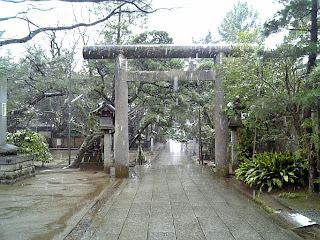 torii-gate in funabashi shrine