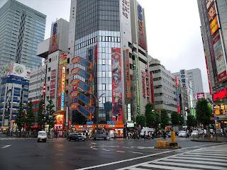 a crossing in akihabara