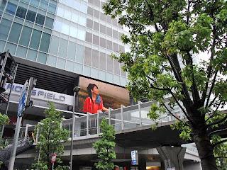 Akihabara UDX and Akiba Bridge