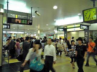 concourse of nishi-funabashi station