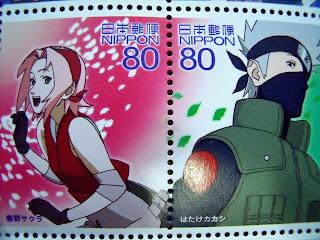 Sakura Haruno and Kakashi Hatake