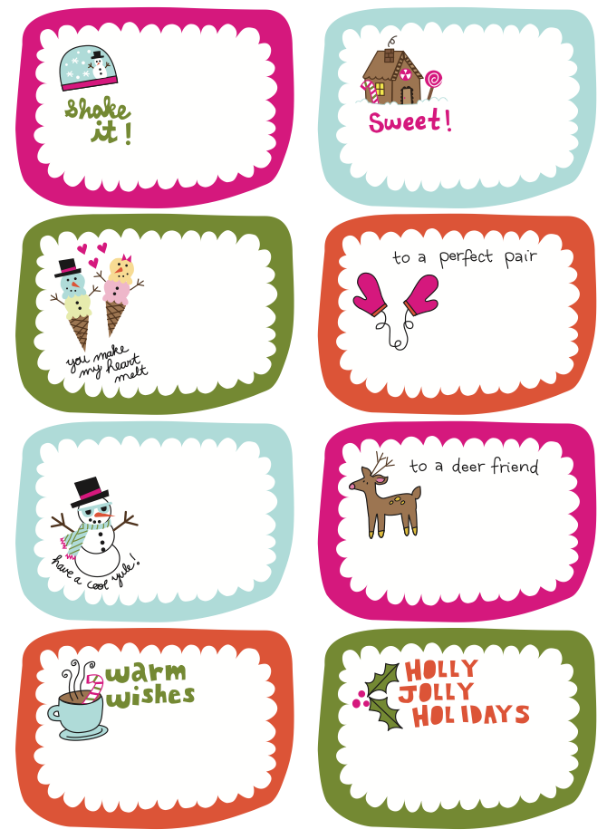 ... Collection of Free Printable Christmas Gift Tags | Frugal Family Fair
