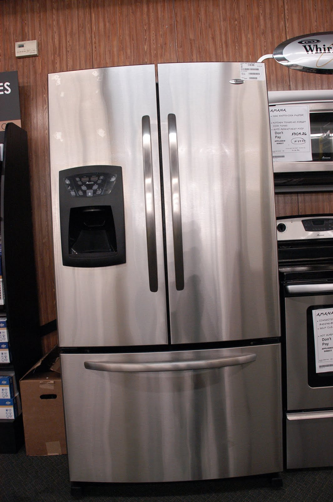 Appliance Direct Video Blog Amana Stainless Steel 25 Cu Ft French