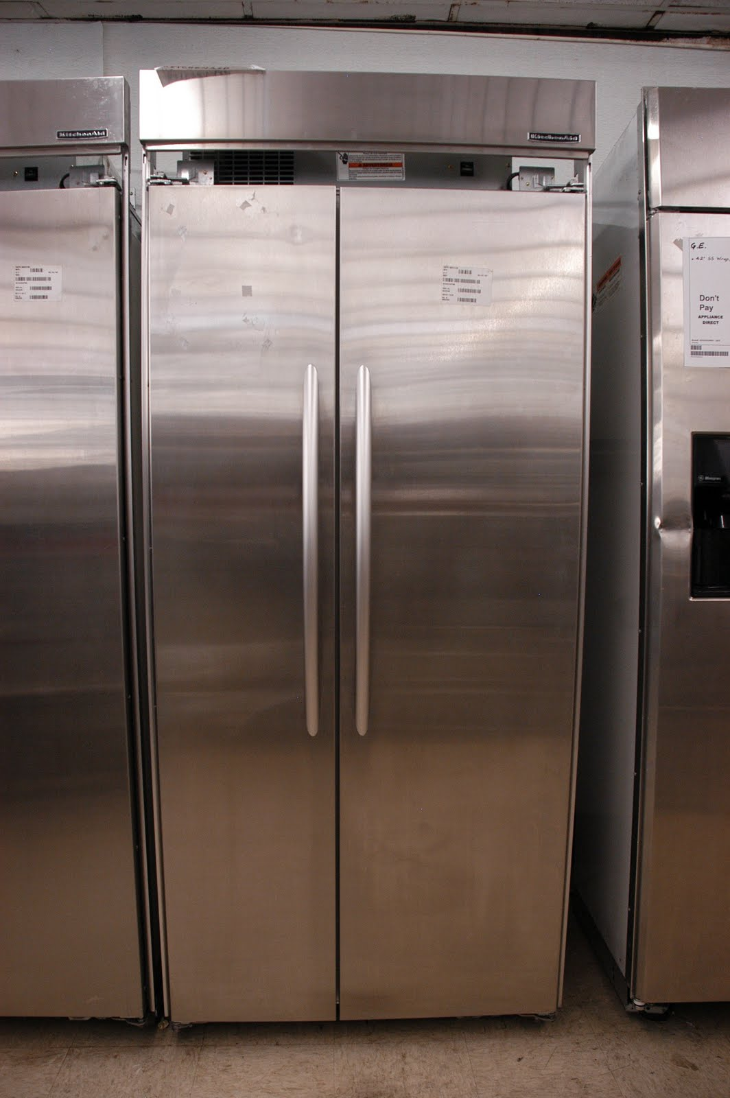 Kitchenaid Refrigerator Side By Side appliance direct video blog: kitchenaid stainless steel side