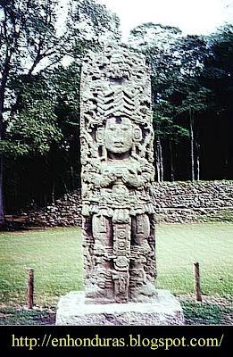 escultura maya
