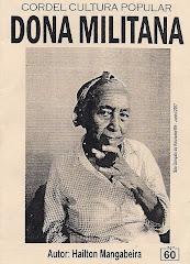 Cordel: Dona Militana, nº 60, Junho/2007