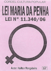 Cordel: Lei Maria da Penha. nº 57. Maio/2007
