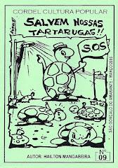 Cordel: Salvem Nossas Tartarugas. nº 09