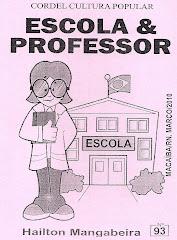 Cordel: Escola e Professor, Nº 93. Março/2010