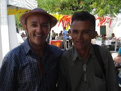 Manoel Silva, o Poeta da Passarela e Hailton Mangabeira no Movimento Cultural Redemoinho.