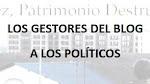 Manifiesto del blog sobre el estado del patrimonio en Jerez