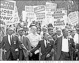 Martin Luther King Civil Rights March