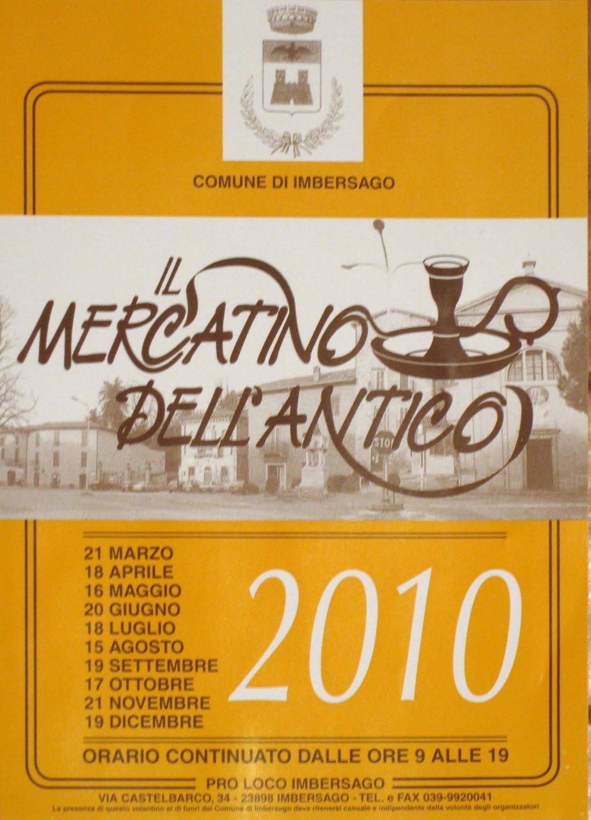 Artecarlacolombo collettiva solidarte 2010 - Mercatino imbersago ...