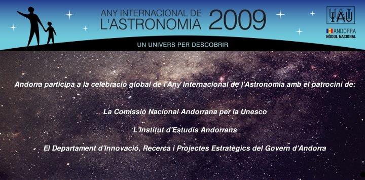 Andorra 2009, Any Internacional de l'Astronomia