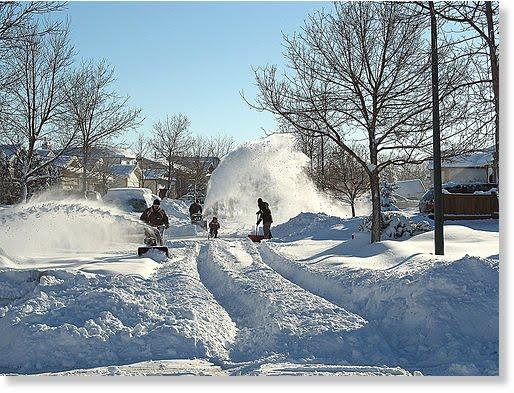 Morton S Musings Snowy Winnipeg