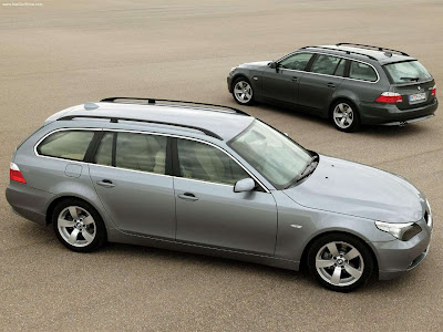 Performance Of Cars 2005 Bmw 530d Touring