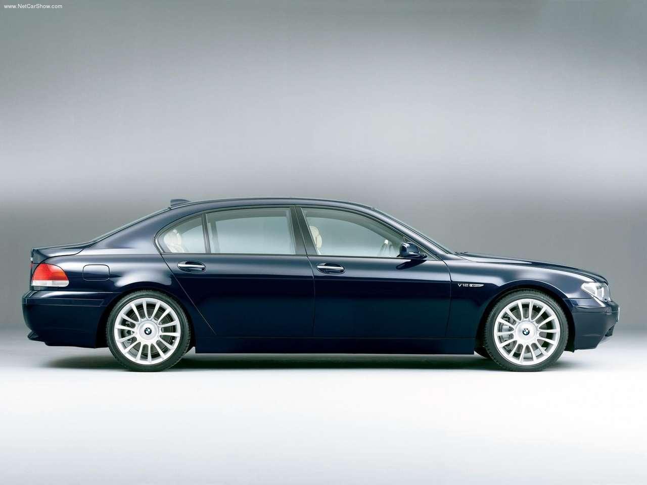 BMW - Auto twenty-first century: 2002 BMW 760Li Yachtline Concept