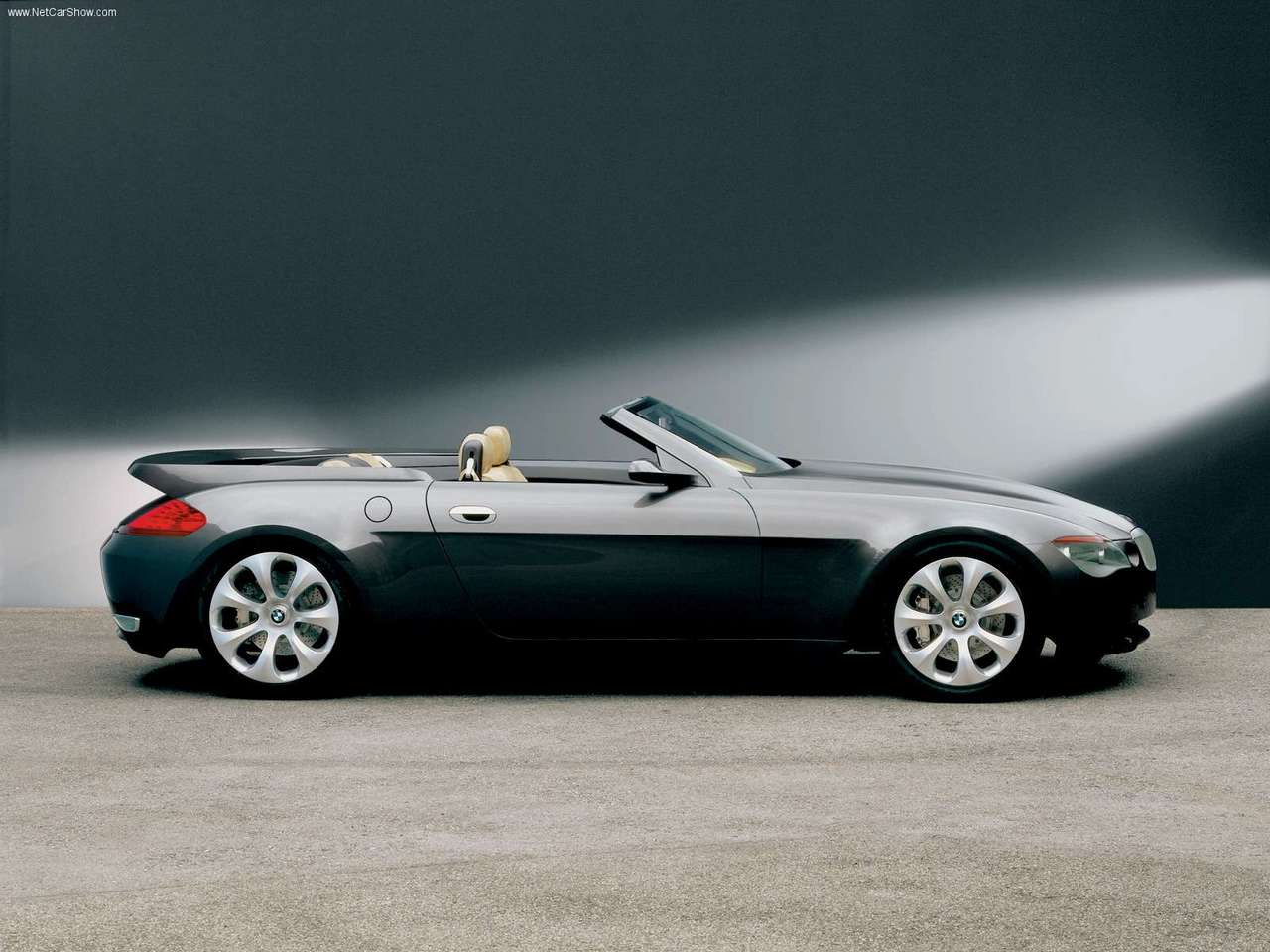 BMW - Auto twenty-first century: 2000 BMW Z9 Convertible Concept