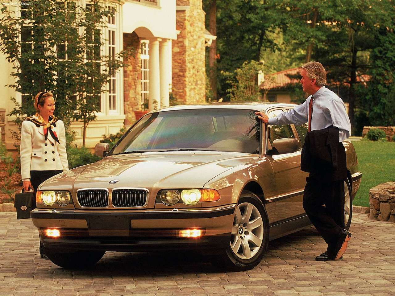 BMW - Auto twenty-first century: 2000 BMW 7 Series Protection