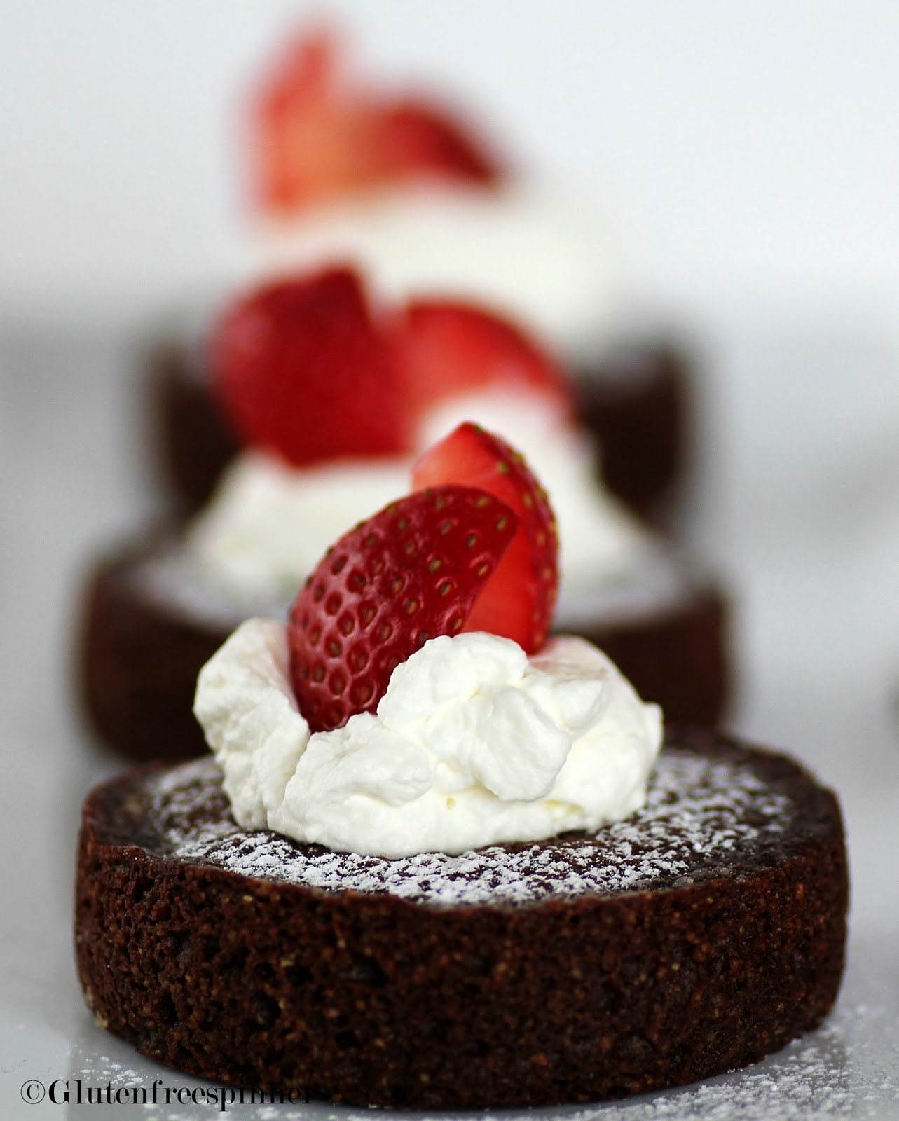 Gluten-Free Chocolate Financiers