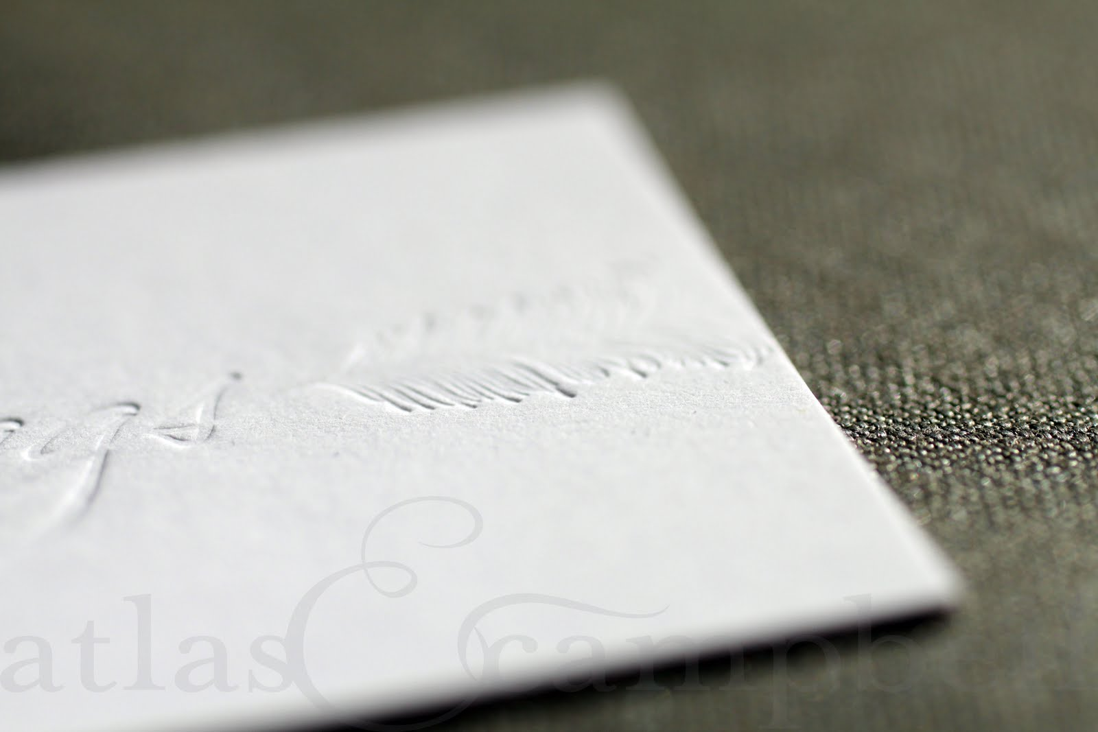 atlas & campbell: SW . business cards