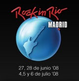 Festival Rock in Rio Madrid 2008