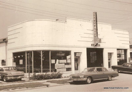 Hover Motor Company Vintage Car Dealership Photos From The 1950s