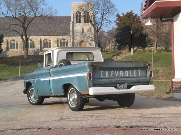 HOVER MOTOR COMPANY: The history of our 1963 Chevy truck, the ...