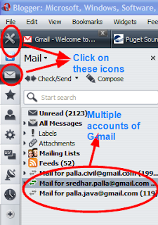 opera mail3 Opera Mail Client! Check Multiple G mail Accounts