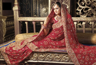 bridal indian sarees