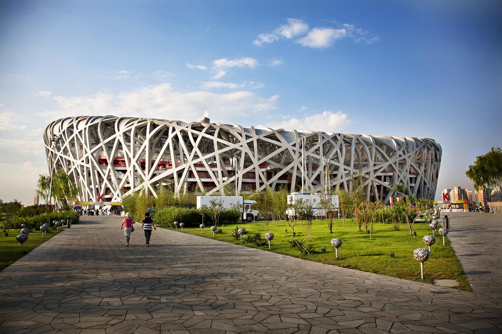 Discovery man made marvels beijing national stadium for The nest beijing