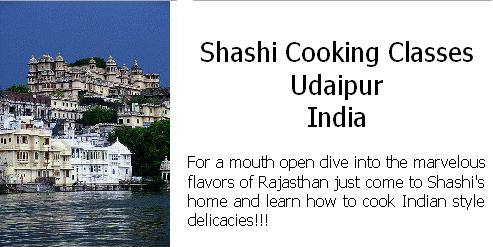 Shashi Cooking Classes - Udaipur