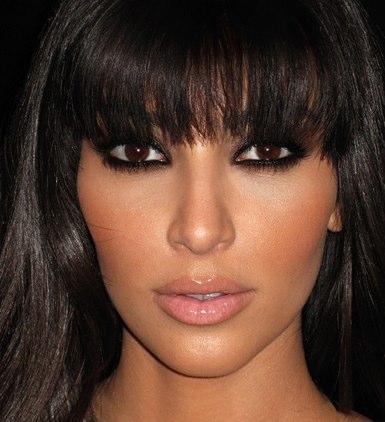 kim kardashian makeup routine. in yesterday#39;s makeup?