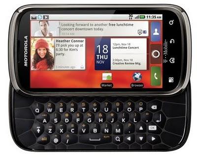 Motorola CLIQ 2 : Harga Spesifikasi