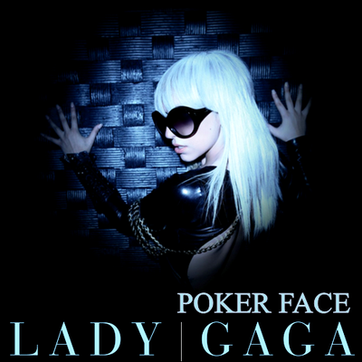 lady gaga album cover poker