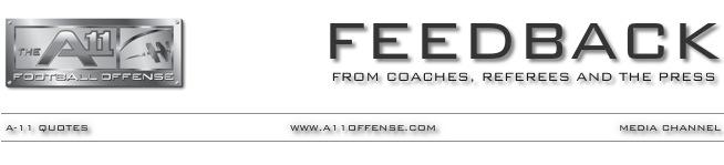 A-11 OFFENSE  FEEDBACK
