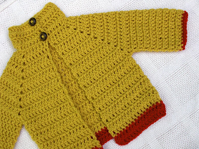 Everyday is a New Sweater Day Baby Sweater Free Crochet ...